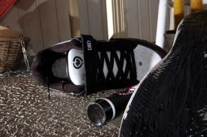 Allstargum - John shoes repaired with Allstargum Black